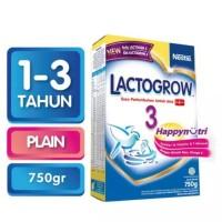 Jual LACTOGROW 3 Susu Plain Box - 750g Murah