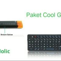 Jual Paket Mini PC Smart TV Versi 5.1.1 & Laser Pointer Keyboard Murah