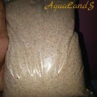 Pasir Silika/silica Coklat halus no 1 perkilo untuk aquascape
