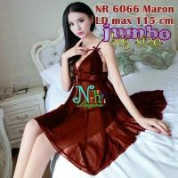 Pakaian Dalam Tembus Pandang NR 6066 Maron