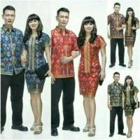 SRnB Santika PD | Pabrik Baju Batik couple wanita keluarga Grosir