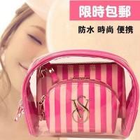 victoria secret makeup pouch dpt 3pcs