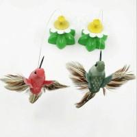 Jual Mainan Kucing Elektrik Burung Terbang Lucu Murah