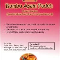 Bumbu Gulai Ikan Asam Padeh khas Padang