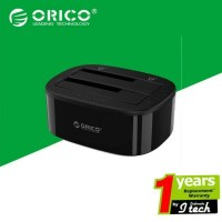 ORICO 6228US3-C HDD Docking 1 to 1 Clone DUAL BAY HDD & SSD