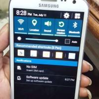 LCD samsung Note 2 ORI copotan
