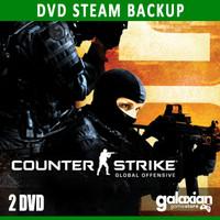 Backup DVD Game Counter-Strike: Global Offensive (CSGO) Original