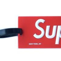 Jual SUPREME Luggage Tag ID Card Holder / Gantungan Koper Murah