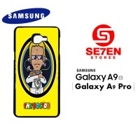Casing HP Samsung A9 2016 A9 Pro Rossi The Doctor Custom Hardcase