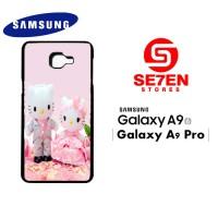 Casing HP Samsung A9 2016 A9 Pro hello kitty & dear daniel 1 Custom Ha