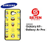 Casing HP Samsung A9 2016 A9 Pro Spongebob faces Custom Hardcase