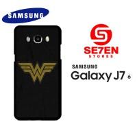 Casing HP Samsung J7 2016 wonder woman logo 1 Custom Hardcase