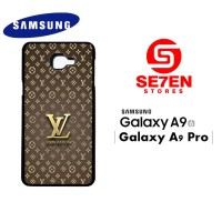 Casing HP Samsung A9 2016 A9 Pro Louis Vuitton Wallpaper 3 Custom Hard