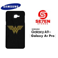 Casing HP Samsung A9 2016 A9 Pro wonder woman logo 1 Custom Hardcase