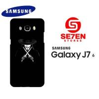 Casing HP Samsung J7 2016 V For Vendetta Custom Hardcase