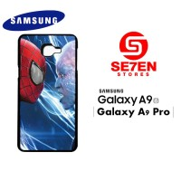 Casing HP Samsung A9 2016 A9 Pro Spiderman to head Custom Hardcase