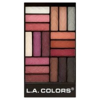 LA COLORS 18 - Color Eyeshadow Palette - Diva Glam Berkualitas
