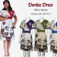 DEVITA DRESS  batik DZ-07