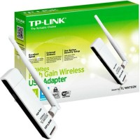 TP-LINK TL-WN722N : TPLink 150Mbps High Gain WiFi Wireless USB Adapter
