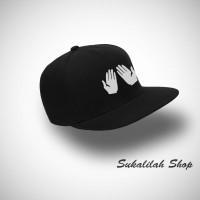 Topi Snapback  Lets Pray - Hitam