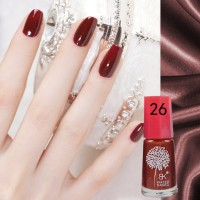 Deep Red (26) BK Peel Off Nail Polish Kutek Halal Water Based