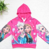 Jual Jaket Anak Import Frozen Anna Elsa Murah
