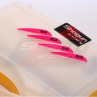 Vanes diamond 235 easton parabolic - Pink