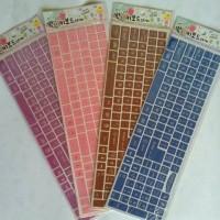 Jual Simple Color - Keyboard Sticker Murah