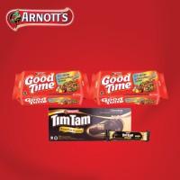 harga Good Time Cookies Rainbow Choc 80gr X 2 + Tim Tam Wafer Cokelat 77.5gr Tokopedia.com