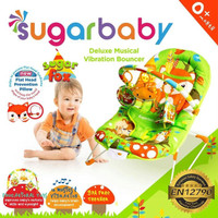 Jual Sugar Baby Bouncer Deluxe Musical Vibration/ Bouncer / Recline 1 Murah
