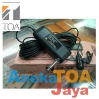 MIC JEPIT TOA ORIGINAL ZM-360 MIK/MICROPHONE/MIKROFON TIE CLIP ON