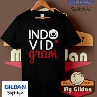 Kaos Original Gildan - T Shirt - Kaos Gildan Indovidgram Logo