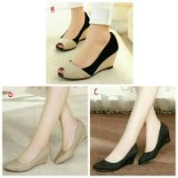 Jual heels cantik murah sepatu kantor wanita formal Murah