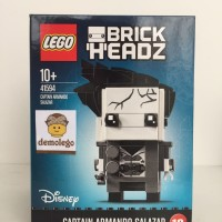 Lego Original Brickheadz Captain Salazar Pirates Caribbean Carribbean