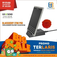TERLARIS! ORIGINAL Blackberry Passport Silver Edition Sync Pod Charger