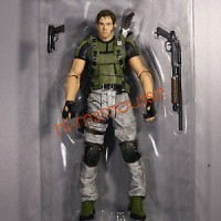 NECA Resident Evil 5 Chris Redfield 7 inch Action Figure Collection Ne