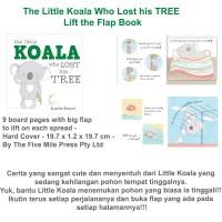 Jual The Little Koala Who Lost his TREE Lift the Flap Book Murah