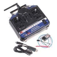 Remot Rc Fs Ct6b 2.4g 6ch Transmitter & Reciever Mode 2 For drone