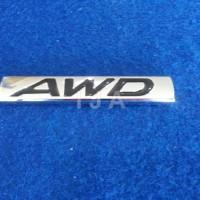 EMBLEM AWD STAINLESS (AUDI)