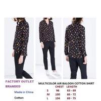 MULTICOLOR AIR BALOON COTTON SHIRT. Made in Spain - FO BRANDED