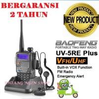 Radio Handy Talkie (HT) Baofeng Uv5re Dual Band Bergaransi 2 Tahun