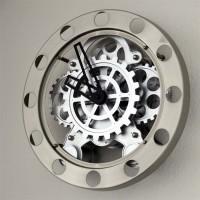 Jam Dinding Roda Mekanikal Wall Gear Clock Mechanical
