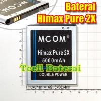 Baterai Himax Pure 2x Mcom