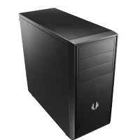 Casing PC Bitfenix Mid Tower ATX Comrade Black And White