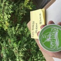 Jual Pomade suavecito color CLAY green hijau hair wax. Free sisir. warna Murah