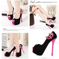 Jual sepatu highheels 27301 pump Shoes Wanita Import Murah Korea Fashion Murah
