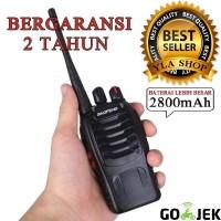 Handy Talkie (HT) Baofeng BF-888s UHF + Headset/Earphone
