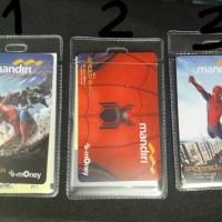 Jual kartu e-money e money spiderman mandiri toll bkn flazz batman Murah