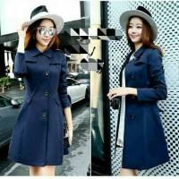 blazer korea wanita / Kochi blazer blue