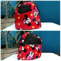 Jual Bonding Pouch Oval Sugar Glider Minnie Mouse Murah